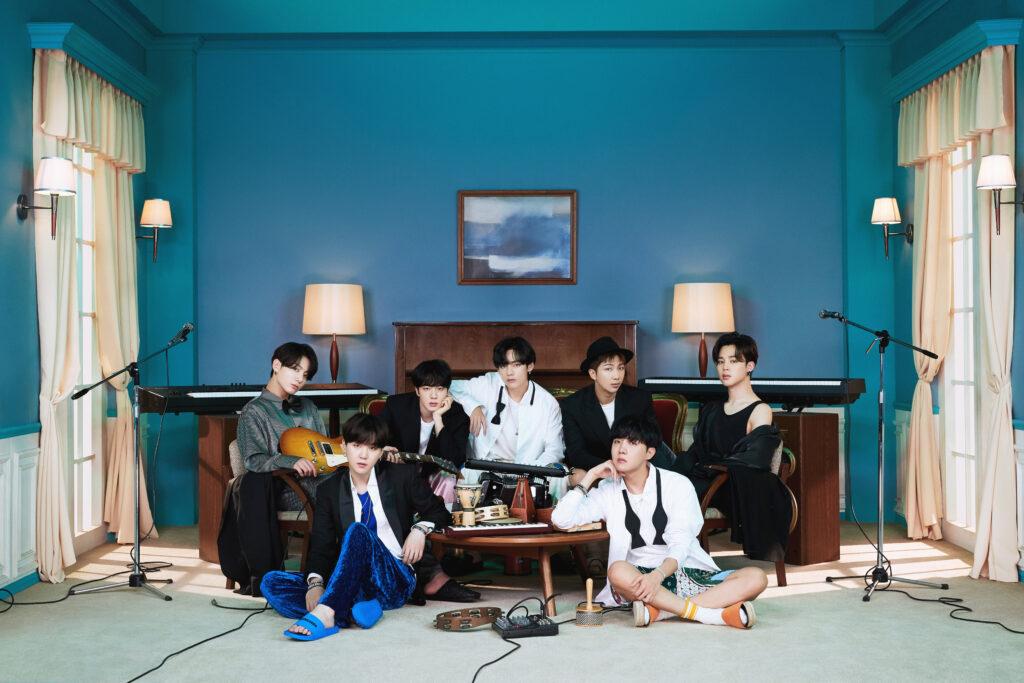 Det koreanske bandet BTS vinner IFPI Global Artist of the Year Awards 2020. Foto: Big Hit Entertainment