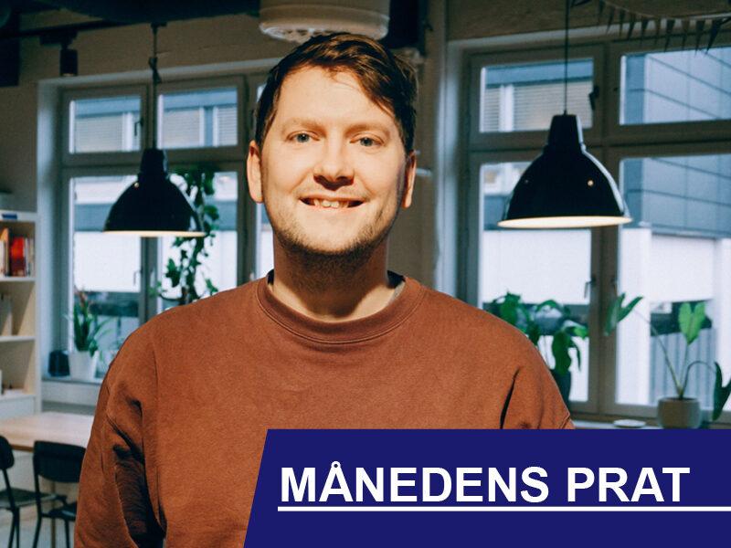 Ask Frederik Berg. Daglig leder i EASY Records